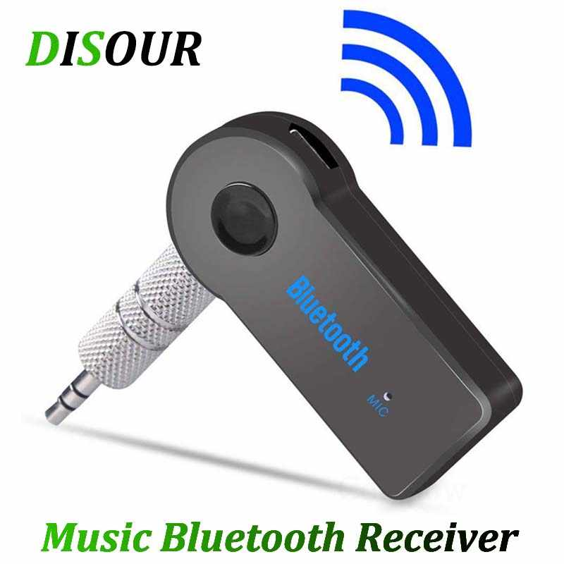 DISOUR Bluetooth Audio Receiver Stereo 3.5mm Jack AUX Bluetooth Adapter MP3 Car Transmitter Wireless Speaker Headphone Adapter