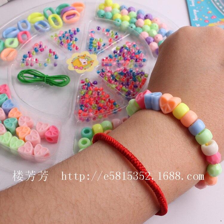 Story 4-Star Blister Card Beaded Bracelet/DIY Creative Bracelets Necklace Beaded Bracelet Material Handmade Beaded Bracelet Mate