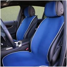 O שי רכב מושב כיסוי חלול החוצה אוויר חדיר אוניברסלית האוטומטי כרית מפנק מגניב רכב מושב גלימה הגן רכב פנים