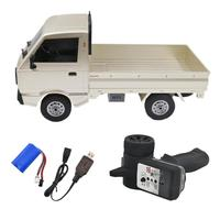 1pc WPL RC Truck 1:10 4WD Simulation Truck Brushed Climbing LED Light On-Road Electric Hobby Toy for Boys Kids Adults
