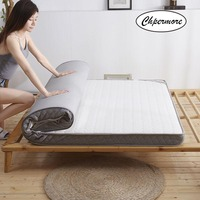 Chpermore Three dimensional latex Mattress 1.8m thickening Foldable student dormitory Tatami double Mattresses King Queen Size