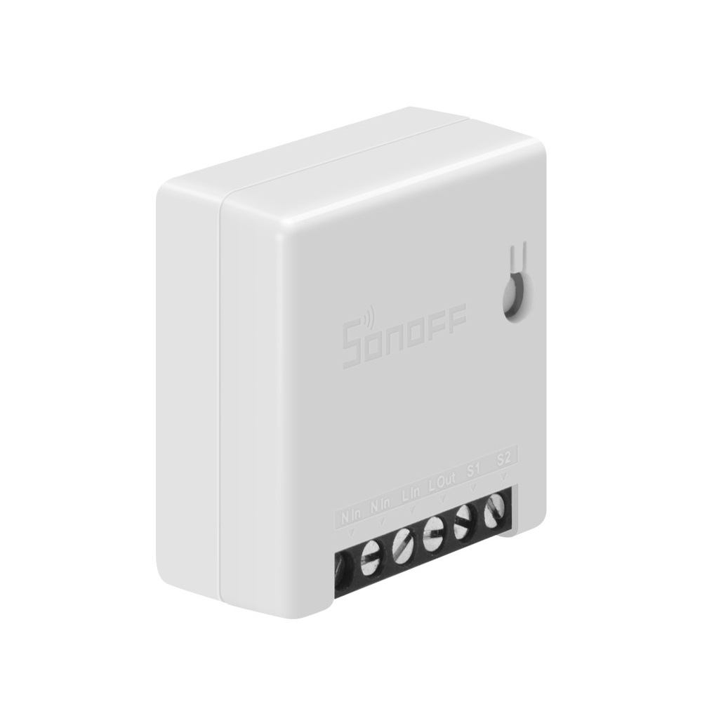 Mini Two Way Intelligent Switch 10A Supports DIY Mode Household Appliance Automation Smart Switches Appliances