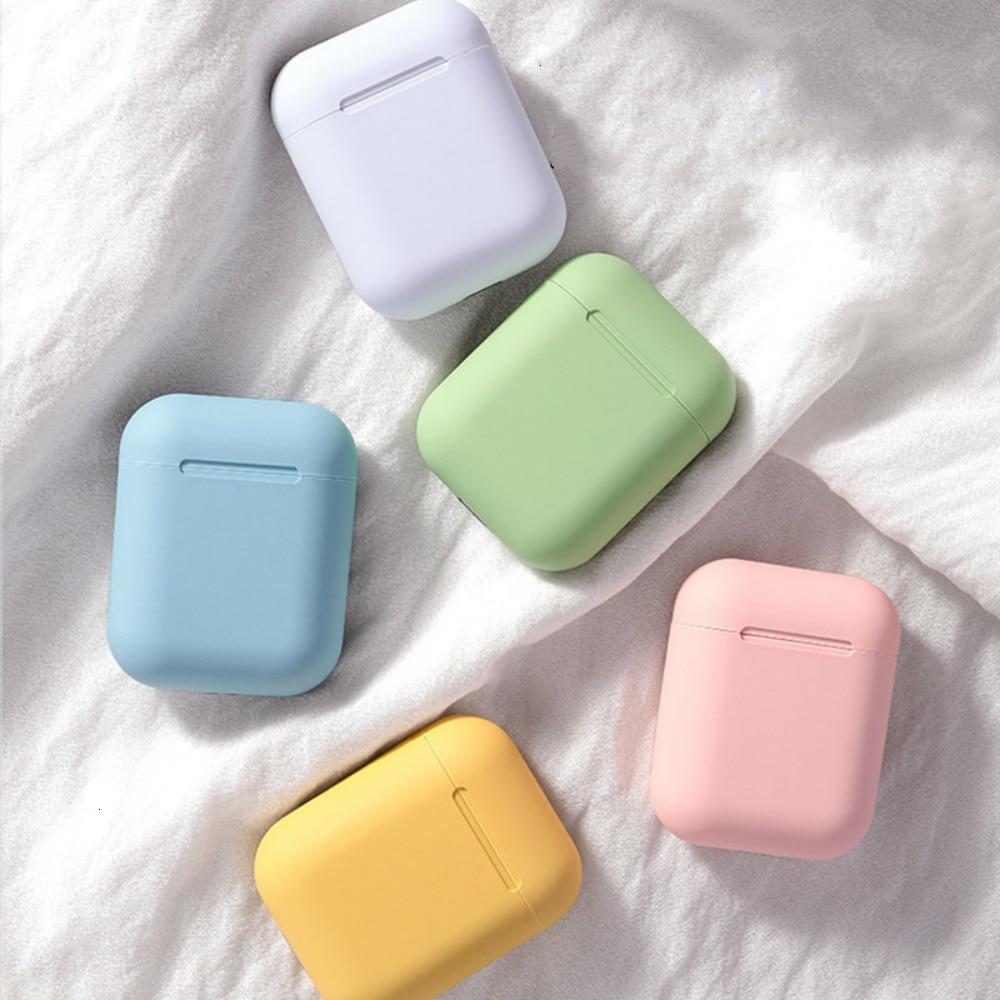 Inpods 12 I12 Tws Color Sport Wireless Bluetooth Earphone Headset Original Earpieces Earphones Erabuds Music For All Smartphones