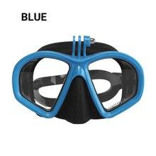 Professionelle Tauchen Maske Unterwasser Kamera Tauchen Maske Scuba Schnorchel Schwimmen Brille für GoPro Xiaomi SJCAM Sport Kamera