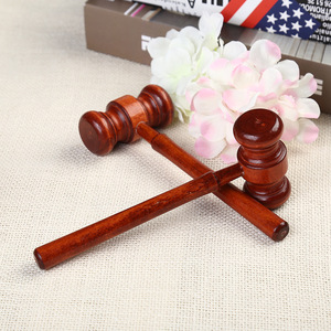 Small Wooden Hammer Wood Judge