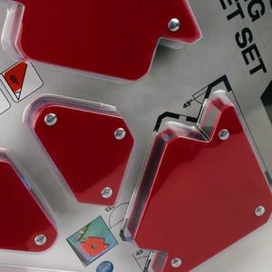Image 4 - 6 sztuk/zestaw trójkąt pozycjoner spawalniczy magnetyczny stały kąt lutowania lokalizator narzędzie bez przełącznika akcesoria spawalnicze