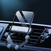 Gravity Car Phone Holder GPS Stand For Skoda Superb Octavia A5 2 Fabia Rapid Yeti Citroen C4 C5 C3 Grand Picasso