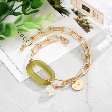 Adjustable Gold  Alloy Metal Chain Bracelet Bangle Charm Small Pendant Embellish Fashion Bracelet Jewelry for Women 2019 alloy metal star charm chain bracelet
