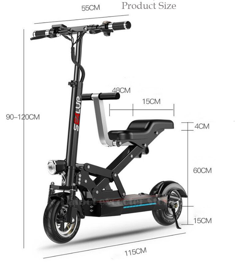 Electric Scooter Adults With Seat Electric Scooters With