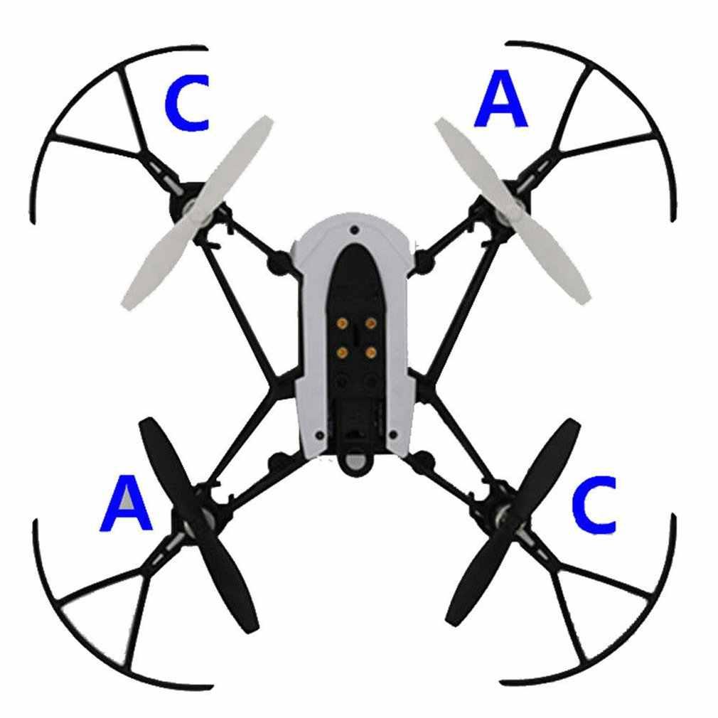 1 Set/4 Baling-Baling Blade RC Mini Drone untuk Parrot Mambo UAV Bagian RC Baling-Baling untuk Mini Drone untuk parrot Mambo UAV Bagian