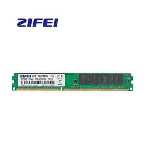 Image 1 - ZiFei ram DDR3 8GB 4GB 1600MHz 1333MHz 1066MHz 240Pin UDIMM pamięć stacjonarna w pełni kompatybilna z Intel i AMD