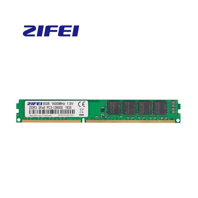 ZiFei ram DDR3 8GB 4GB 1600MHz 1333MHz 1066MHz 240Pin UDIMM pamięć stacjonarna w pełni kompatybilna z Intel i AMD