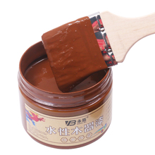Brownish Yellow Acrylic Paint,Water-proof&Mildew-proof Water-based Woodwork Paint Craft Paints for Home Furniture