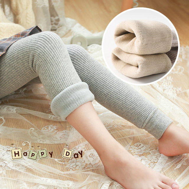 Winter Fleecy Textured Leggings 2