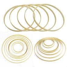 1-5p 9/12/17/19/22/26/30cm Ring Runde holz Bambus Hoop Rahmen DIY Kreuz Stich Stickerei Nähen Handwerk Werkzeuge Hochzeit Dekoration