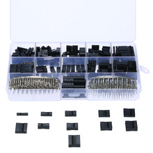 620 Pcs 2.54 Mm 1/2/3/4/5/6 Pin Housing Konektor dan pria Wanita DuPont Crimp Pin Adaptor Bermacam Kit(China)