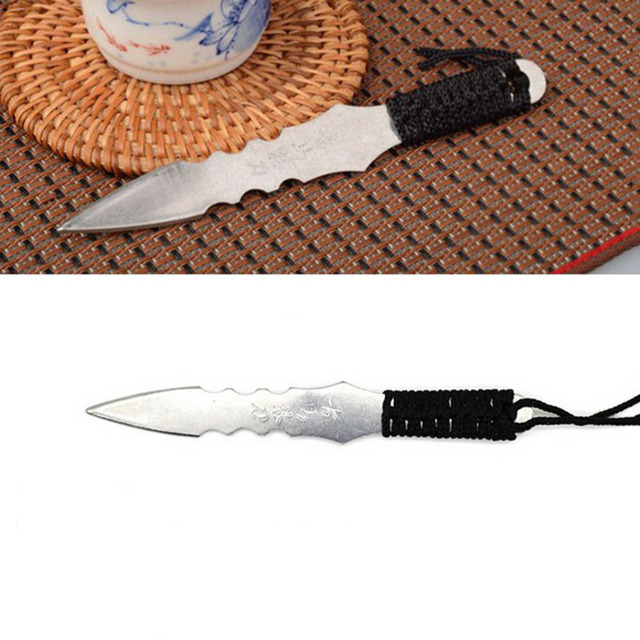 (No Blade) 1 PCS Stainless Steel Puerh Tea Knife Needle Puer Knife Cone Thickening Outdoor EDC Self Defense Tool