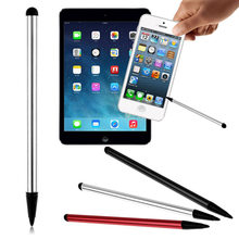 1PC 2 in 1 Kapazitive Resistiven Touchscreen Stylus Bleistift für Tablet iPad Handy Samsung PC Stylus kapazitiven Stift(China)