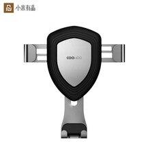 Youpin COOWOO Intelligent Support De Voiture Clip De Fixation Avec Capteur De gravité Dune seule main Multi appareils compatibles Dair OutletD5