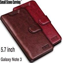 Caso magnético para samsung nota 3 caso titular do cartão capa para samsung galaxy note 3 n9000 couro caso do telefone flip capa