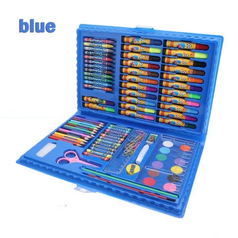86 pces criancas pintura ferramentas suprimentos de