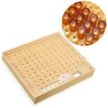 Вспомогательное устройство для пчеловодства пчелы Нико Catcher Cupkit инструмент пчеловода набор инструментов Практичный Прочный вывод маток системы 100 сотовых чашек