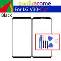 "6.0 ""dokunmatik ekran LG V30 H930 H931 H932 VS996 US998 AS998 LCD ön dokunmatik ekran dış cam Lens ön panel değiştirme|Cep Telefonu Dokunmatik Paneli|Cep telefonları ve Telekomünikasyon Ürünleri -"