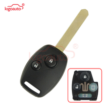 Kigoauto 2 Buttons 313.8mhz HON66 OUCG8D-380H-A with ID46 Chip HON66 for Honda Accord Civic Fit key 2003 2004 2005 2006 2007 2 pcs 313 8mhz 3 1 buttons durable replacemen remote key fob with id46 chip oucg8d 380h a fit for 2003 2007 honda accord