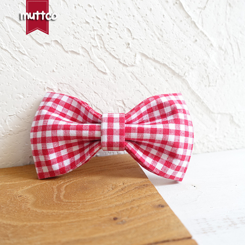 Muttco Pet Accessories Dog Collar Accessories Medium And Small Dog Bow Tie Ubt-047