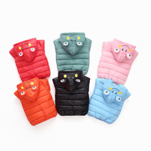цена на 2019 New Baby Girls Boy Parka Light Kids Jacket Hood Cotton Down Coat Autumn Winter Children Jacket Thick Warm Outerwear Clothes