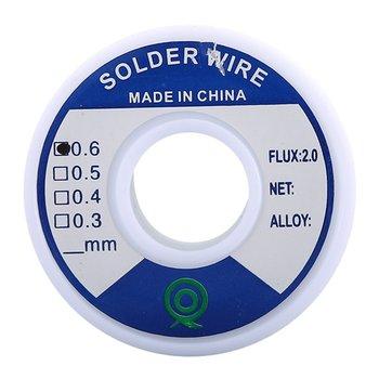 Tin Lead Rosin Core Solder 0.8Mm/0.6Mm/1.0Mm 100G/50G Flux Reel Welding Line Lead Tin Wire new tin lead rosin core solder wire 0 3mm 0 4mm 0 5mm 0 6mm 0 8mm 1 0mm 2