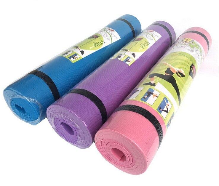 4MM EVA Yoga Mats Anti-slip Blanket EVA Gymnastic Sport Health Lose Weight Fitness Exercise Pad Women Sport Yoga Mat