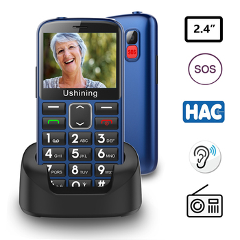 3G Big Button Mobile Phones for Elderly,Unlocked Senior Dual Sim  Mobile Phone With SOS Emergency  English keyboard  phones cмартфон micromax canvas fire 3 a107 8гб серый dual sim 3g