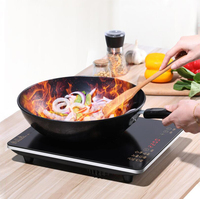 2200W Induction Cooker for Home Hot Pot Cooking Energy saving Induction Cooker Hot Tureen Kitchen Appliances