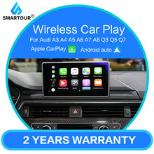 Smartour Draadloze Carplay Mmi Android Auto Interface Doos Voor Audi A4 A5 Q5 S5 3G Mmi Systeem Multimedia Originele screen Update(China)