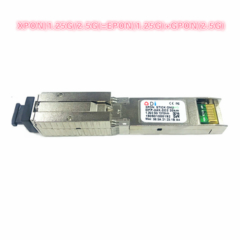 XPON  SFP ONU Stick With MAC SC Connector 1490/1330nm DDM pon module 1.25/2.5GCompatible with EPON/GPON( 1.244Gbps/2.55G)802.3ah