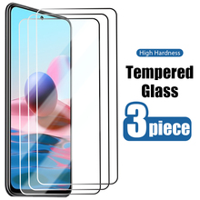 Защитное стекло для Redmi Note 10 Pro Max 10S, закаленное стекло с защитой от царапин для Redmi Note 8T, 8, 7, 6, 5 Pro, 5A, Prime, 4X, 4 Pro, 3 шт.