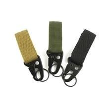 Outdoor Carabiner Belt-Buckle Key-Hook Climbing-Accessory Nylon Backpack Hanging Tactical