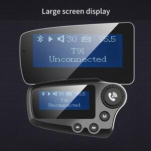 Image 4 - Jajabor Bluetooth 5.0 Xe Bộ Tay Phát FM Aux Thiết Bị Thu Âm Thanh Xe Ô Tô MP3 Người Chơi QC3.0 Sạc Nhanh Màn Hình LCD 1.8 Inch màn Hình Hiển Thị