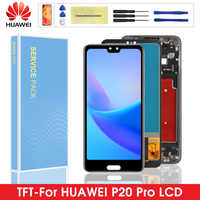 100% Test AAA+ Quality Display For Huawei P20 Pro LCD Touch Screen Digitizer Assembly + Fingerprine For Huawei P20pro CLT-L09