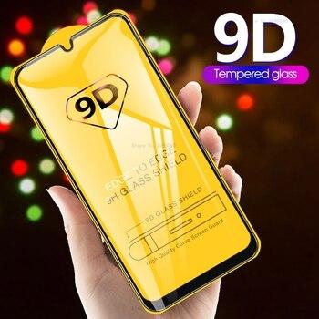 Перейти на Алиэкспресс и купить 9D закаленное стекло для samsung Galaxy A50 A70 A30 A20 A10 Защитное стекло для samsung A 70 50 30 S жесткая защита экрана