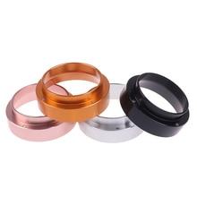 Coffee-Powder Barista Dosing-Ring Funnel Espresso Intelligent 51mm PORTAFILTER Stainless-Steel