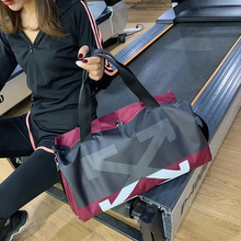 2020 New Travel Bag Outdoor Leisure Luggage Men Wet and Dry Separation Sports Fitness Swimming with shoes comparment