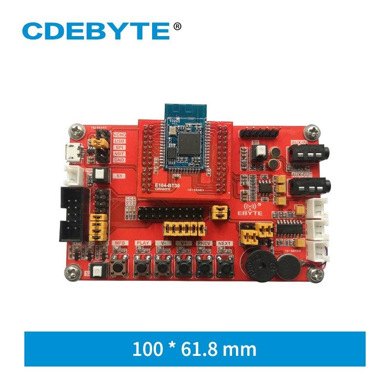 E104-BT30-TB USB Interface Bluetooth Audio Transmission BLE 4.2 EDR RF Module Test Board Kit