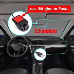Image 3 - ドライブレコーダー 車 Dvr ダッシュカム USB DVR カメラミニポータブル車 DVR HD ナイトビジョンダッシュカム Registrator レコーダー Android システム