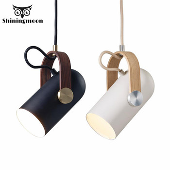 Nordic LED Black and Iron Pendant Light Modern Simple Spotlight Pendant Lamp Home Decor Hanging Lamp Bedside Lamp Light Fixtures н н орехов производственная графика