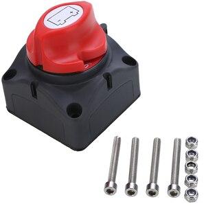 Image 2 - 1pc 24V 600A Auto Batterie Isolator Wichtigsten Batterie Not Pole Trennen Separator Schalter für RV Boot 68*68*74mm