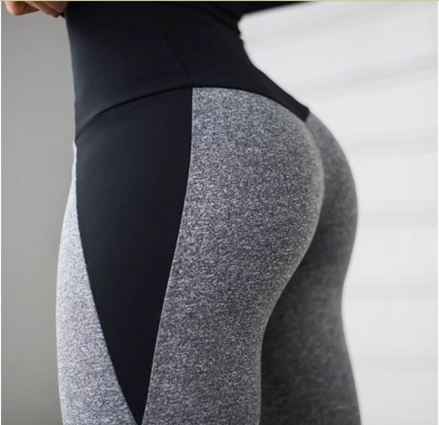 Ogilvy Mather Fitness Leggings Women 2020 High Waist Push Up Skinny Pants Elasticity Workout Thick Patchwork Leggings For Women