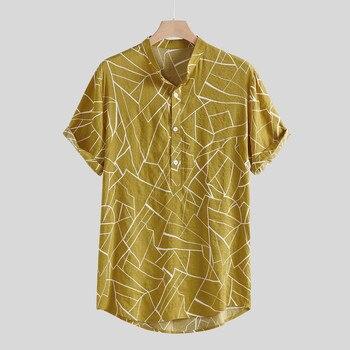 Camisas de hombre, blusa, camisa de hombre, de varios colores, con dobladillo y bolsillos, camisas sueltas, camisas de hombre, camisas de hombre