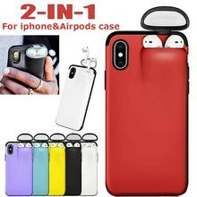 Mobile Phone Case for iPhone 11 Pro Case Protector with Earb